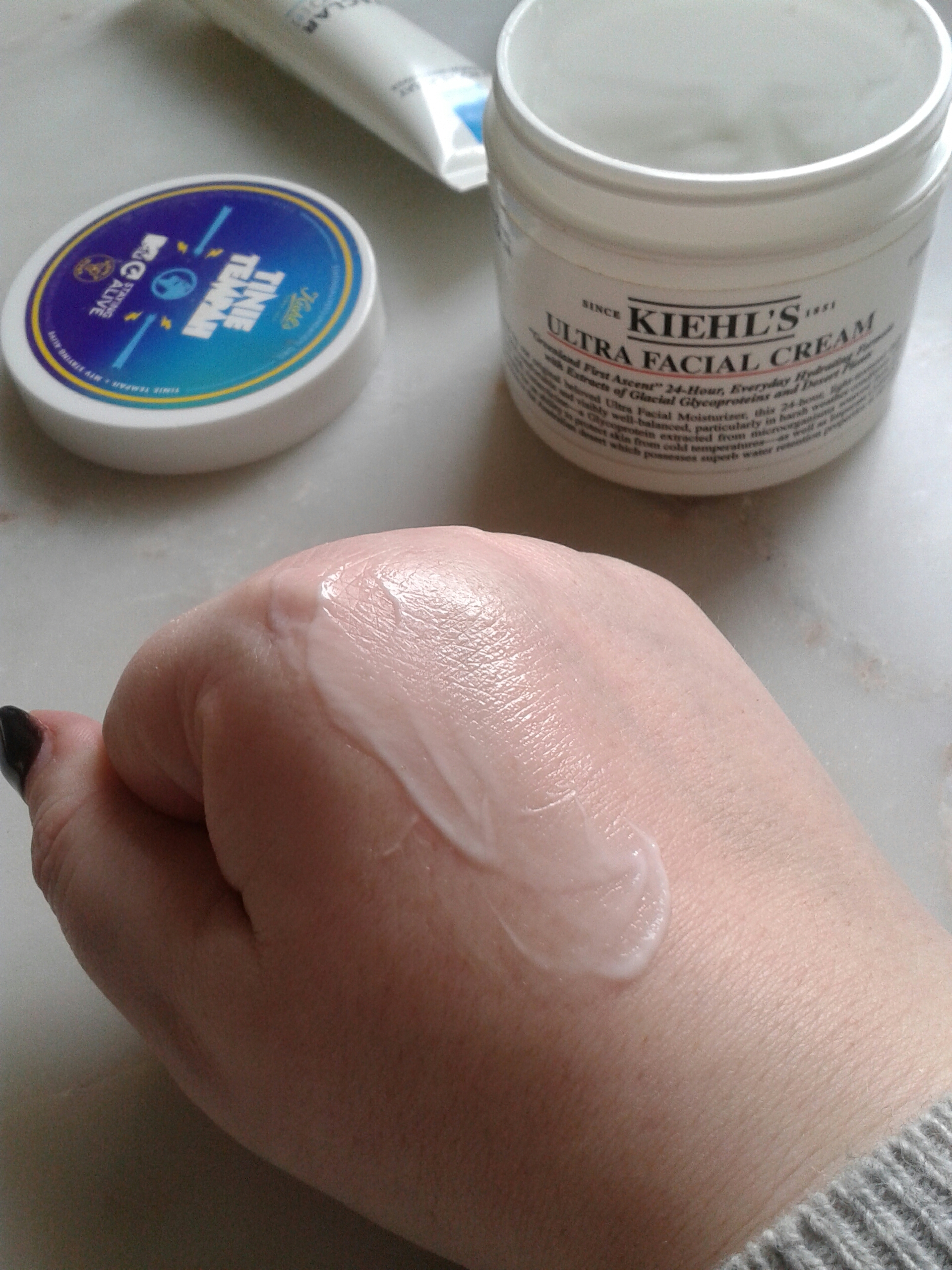 Kiehl's Ultra Facial Cream REVIEW MTV Staying Alive TINIEXKIEHLS